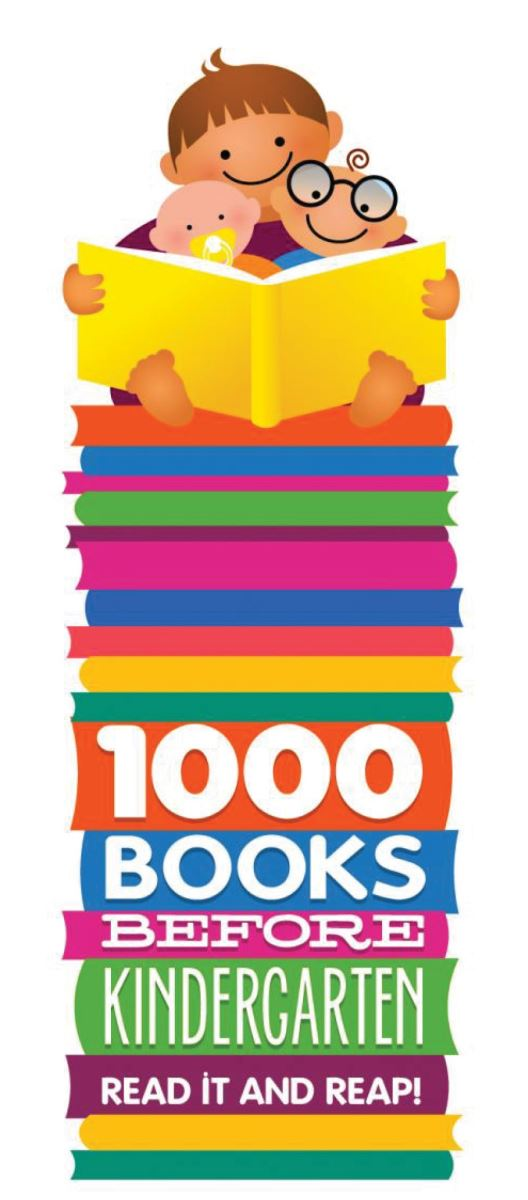 1000 books before kindergarten graphic